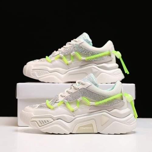 Luxury Designer Women's Fashion Shoes Sneakers - M