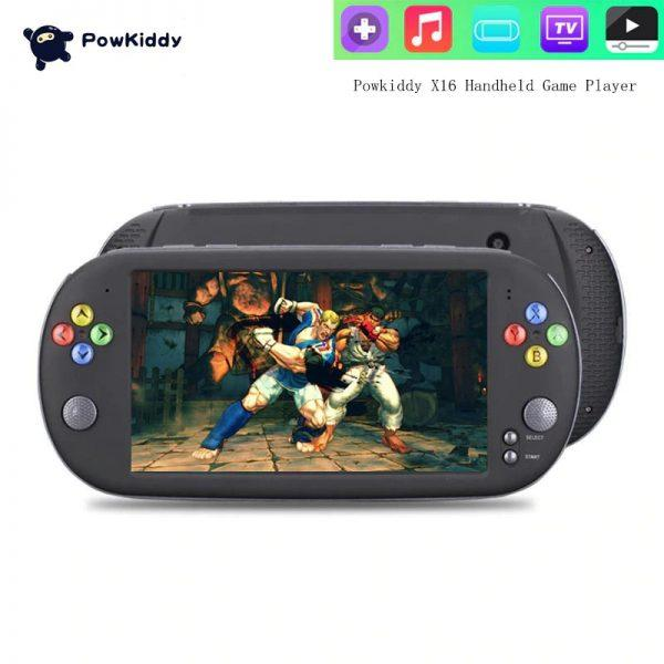 Powkiddy X16 Portable Handheld Video Game player 1