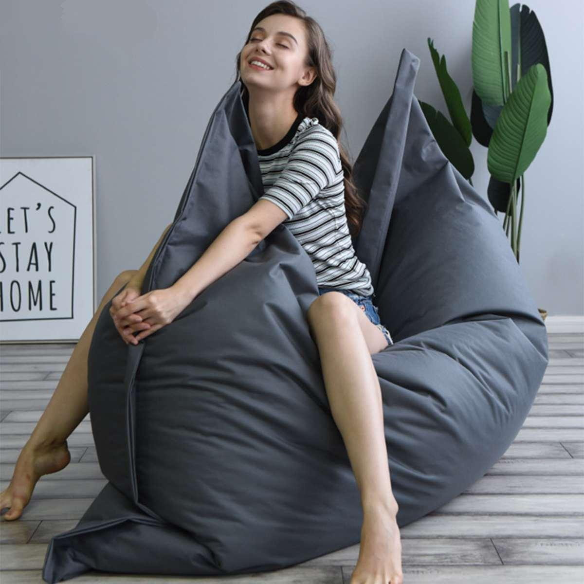 Big Bean Bag Puff BeanBag Sofa!