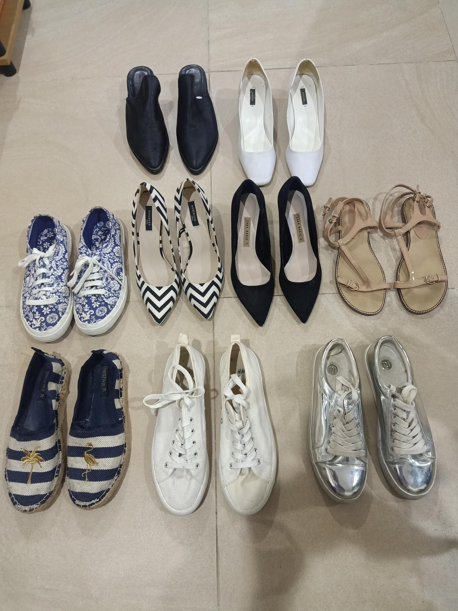 Branded shoes