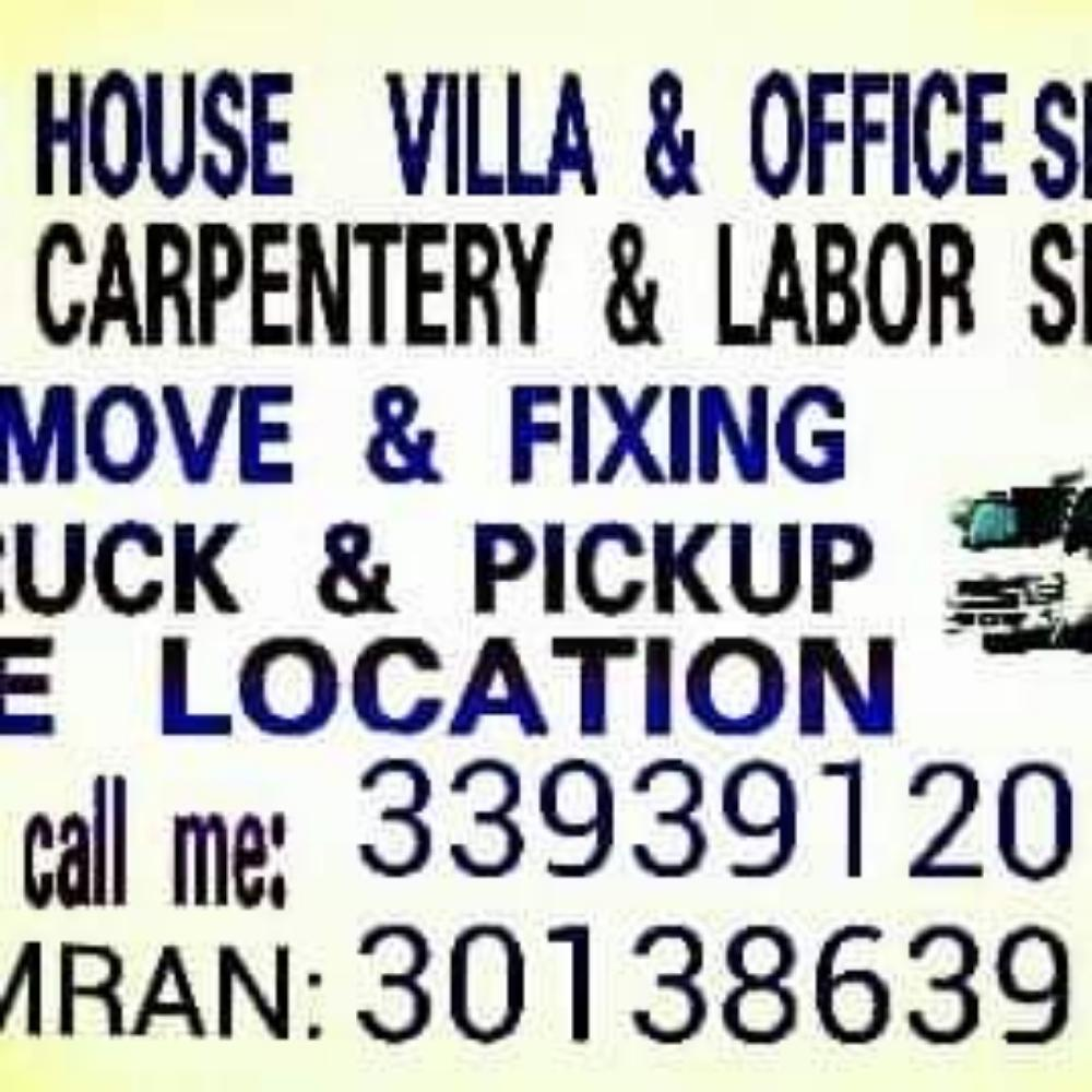 All moving and shifting works we do. Please call 3