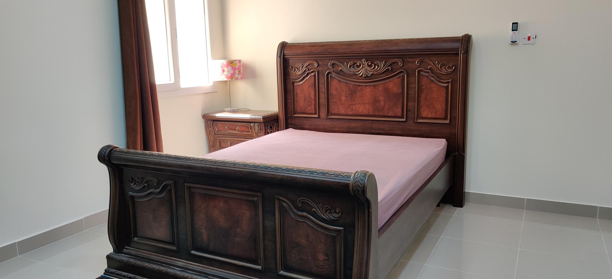Arabesque single and double bedroom sets