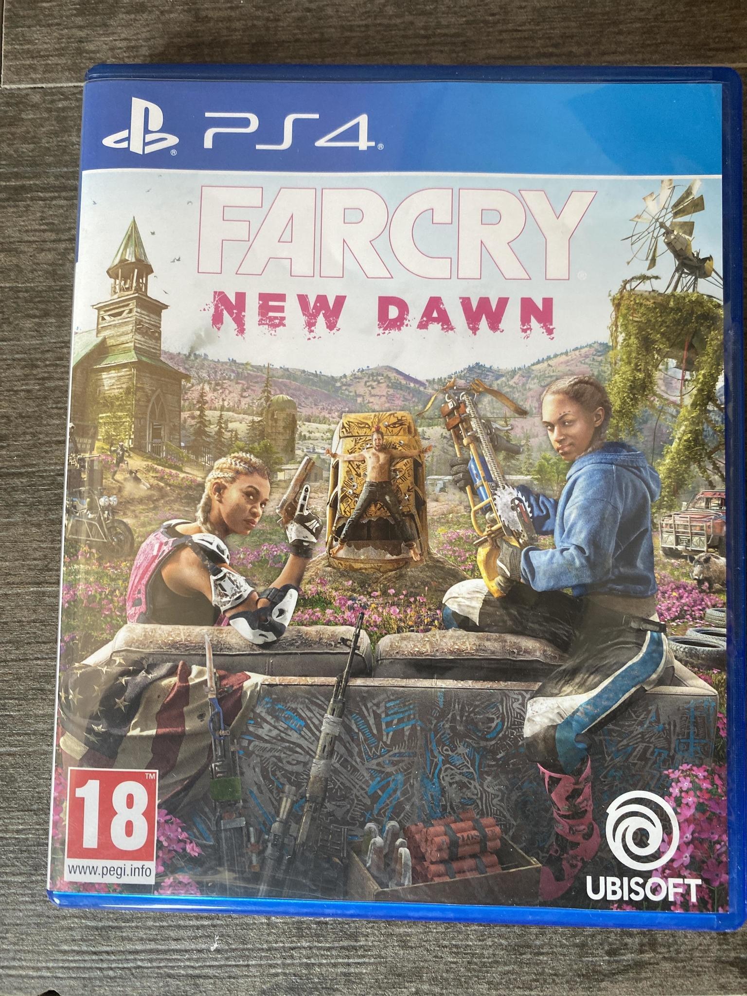Playstation game ps4 far cry new dawn