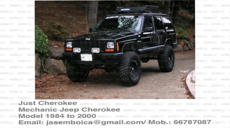 Offer service / maintenance & lift up Jeep Cheroke