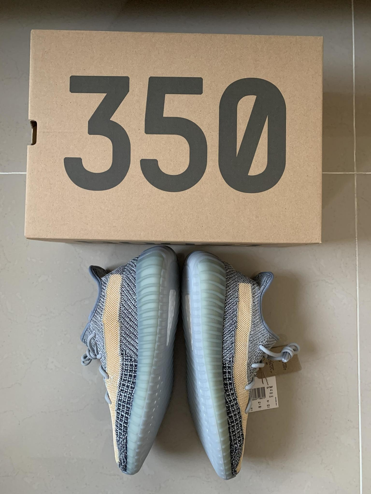 Yeezy Boost 350 Ash Blue (US10/EU44)