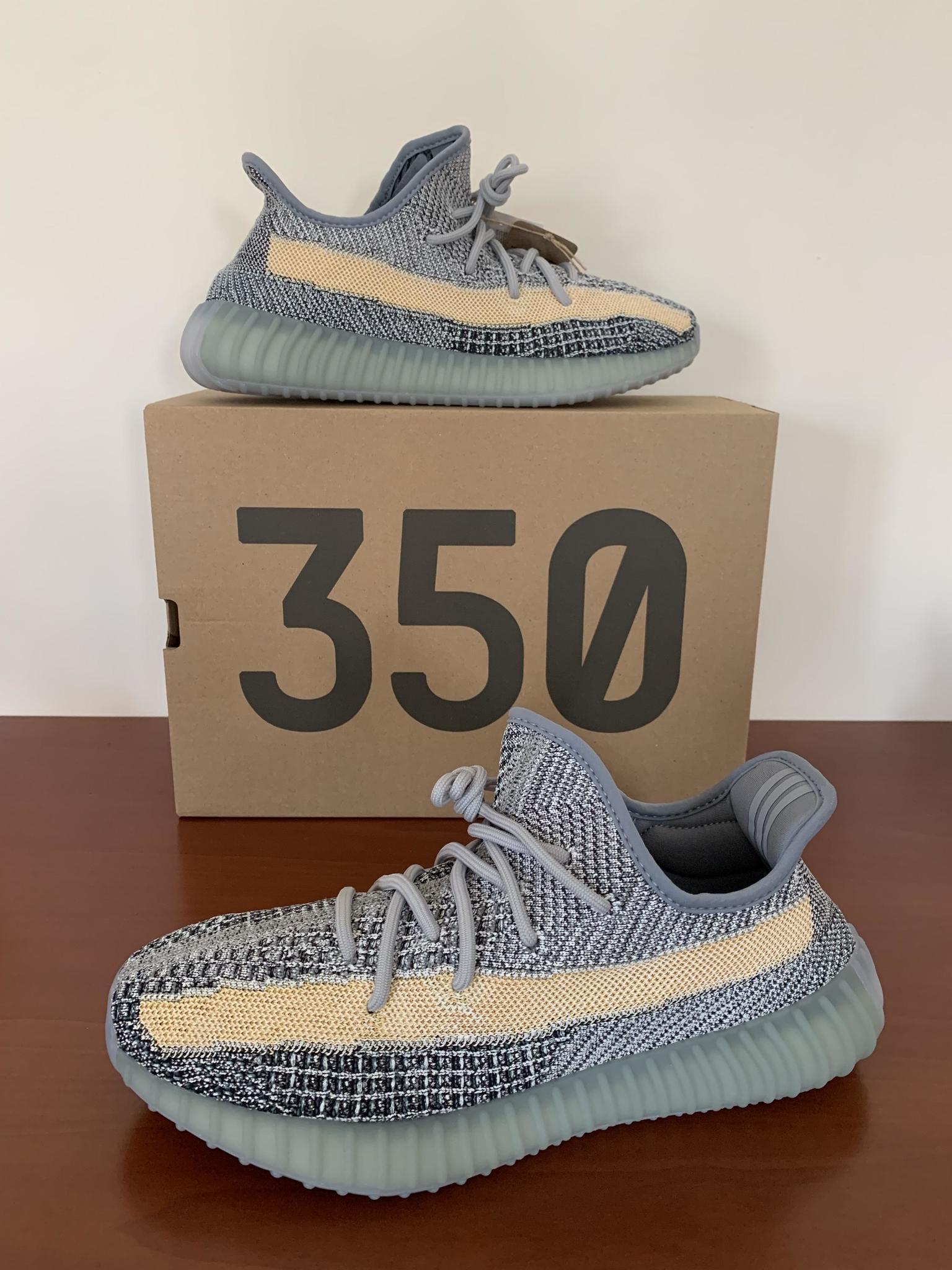 Yeezy Boost 350 Ash Blue (US10/EU44)