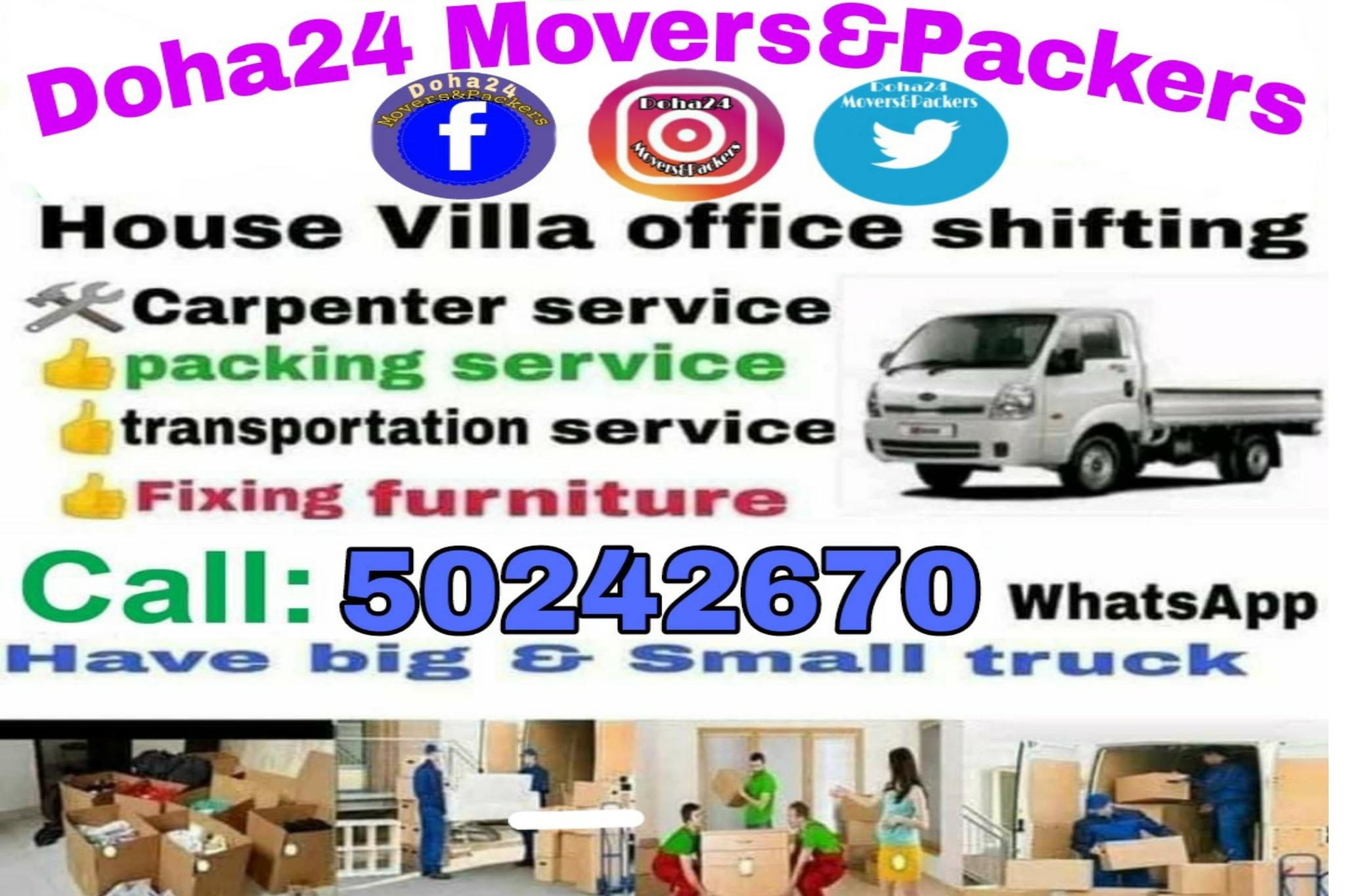 We do all kind of Shifting and Moving, Carpentry,