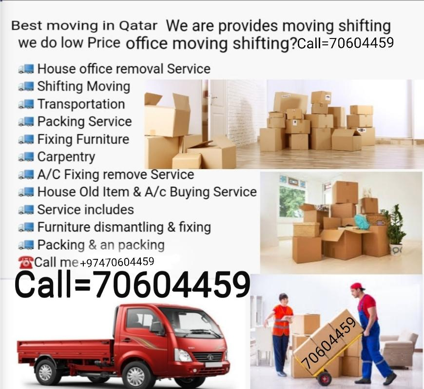 All type of Moving and Shifting. At your service 2