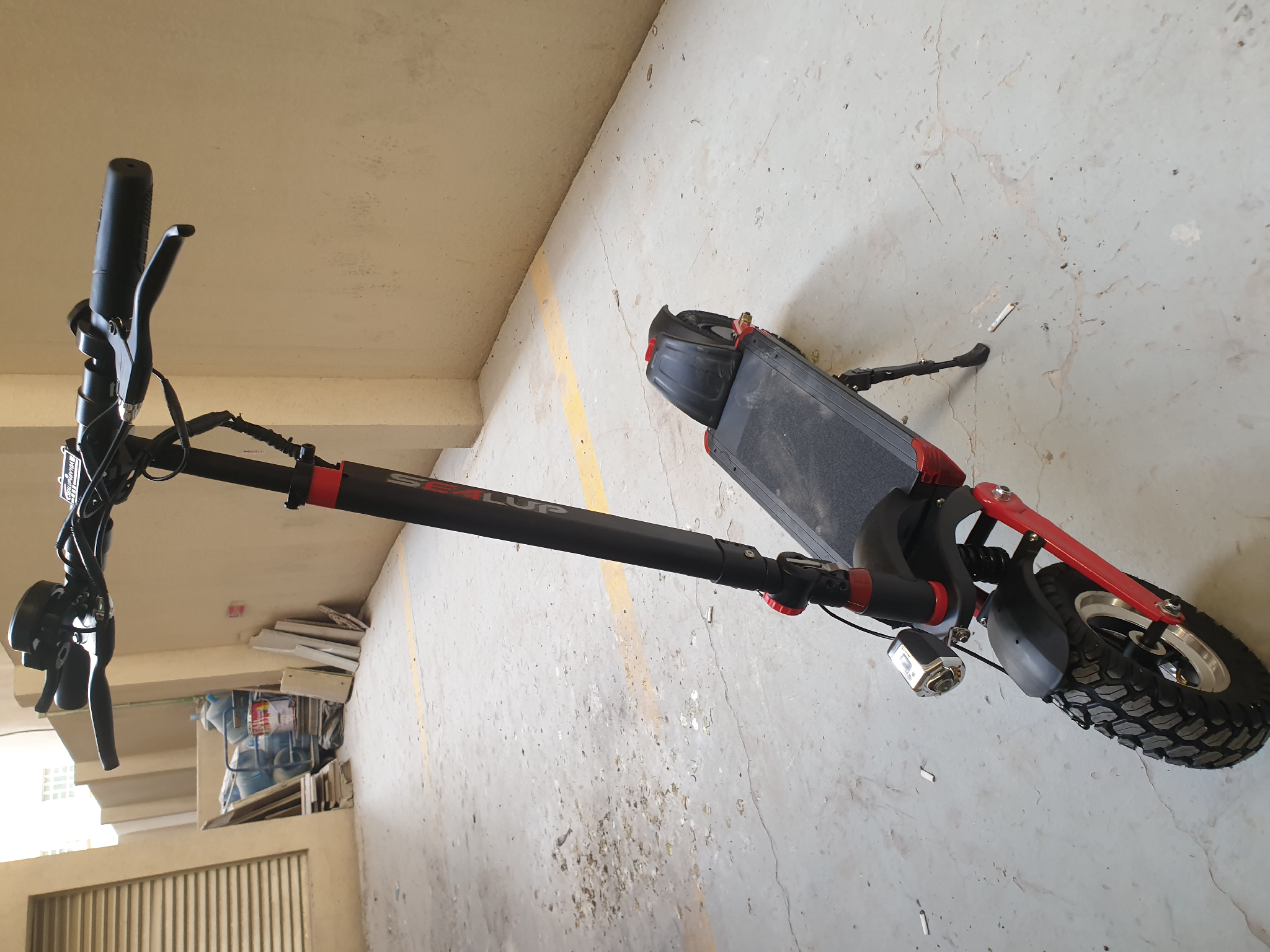 Electric scooter 48v sealup