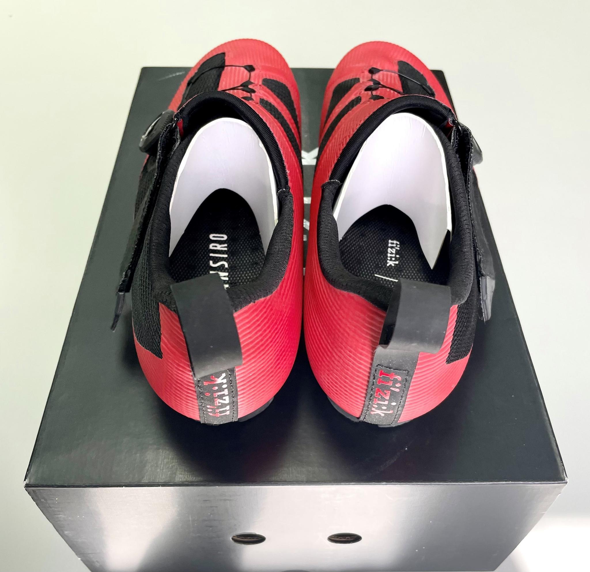 Fizik Transiro Infinito R3 Triathlon Shoe Red/Black (43,5 ...