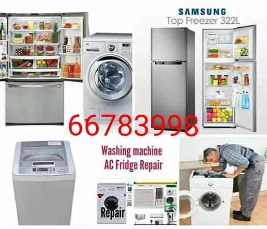 WASHING MACHINE, FRIDGE, AC REPAIR CALL 66783998