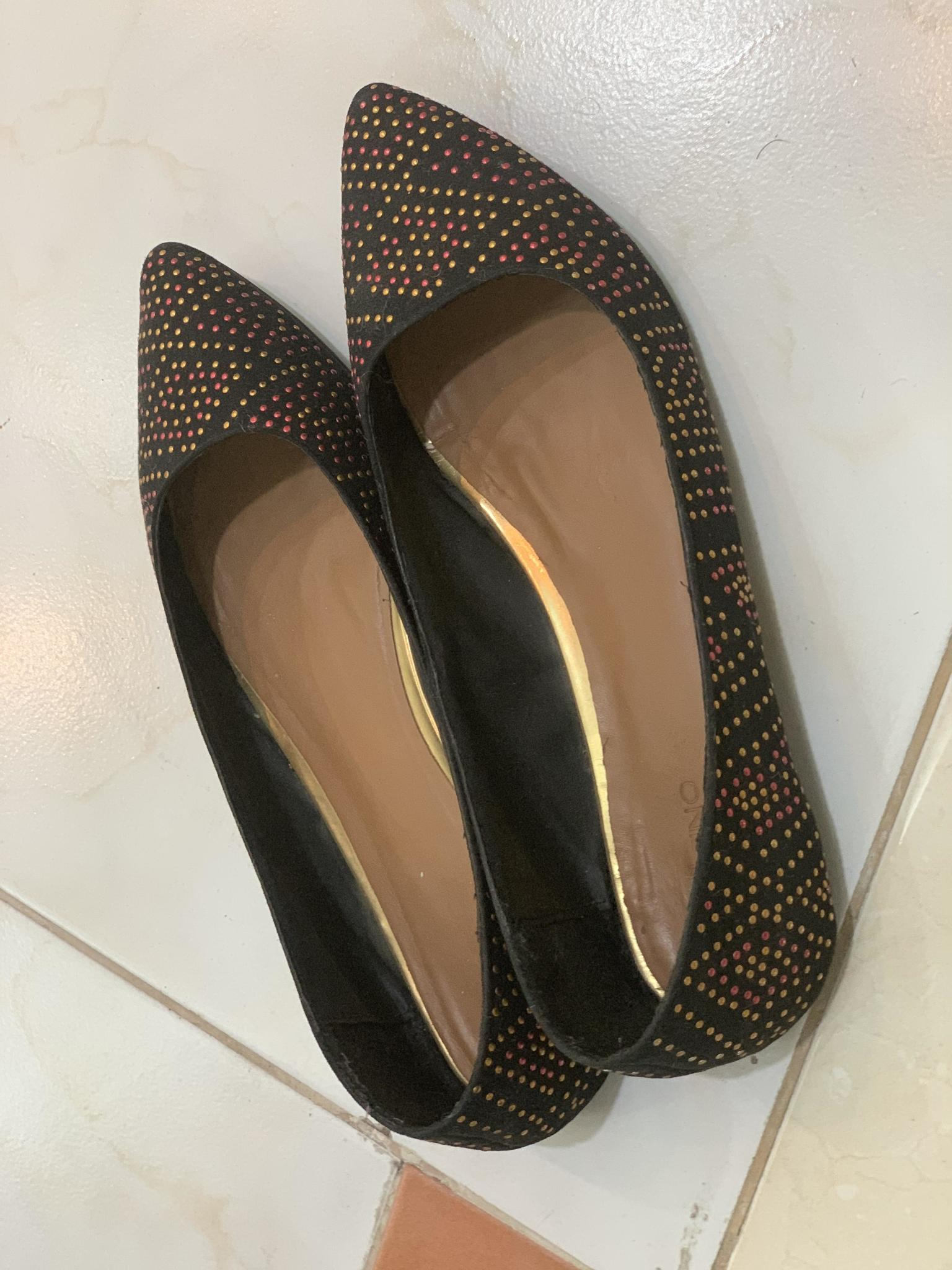 Black Milano shoes Size 41