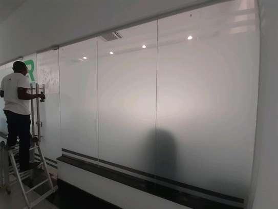 Glass sticker, frosted film, sandblasting glass st