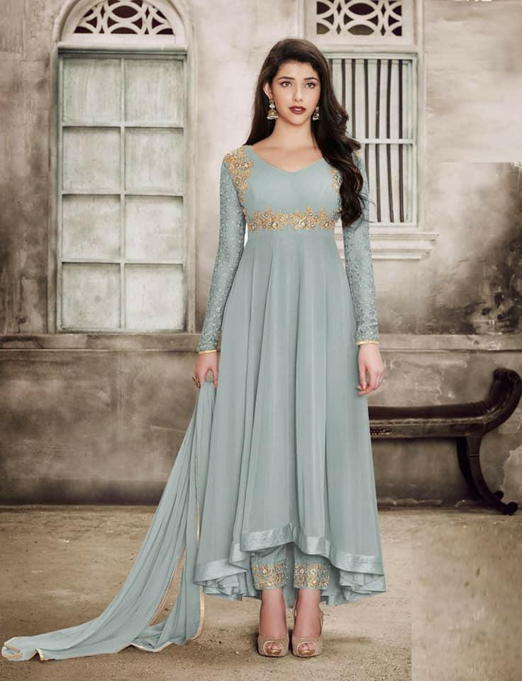 Eid collection salwars materials