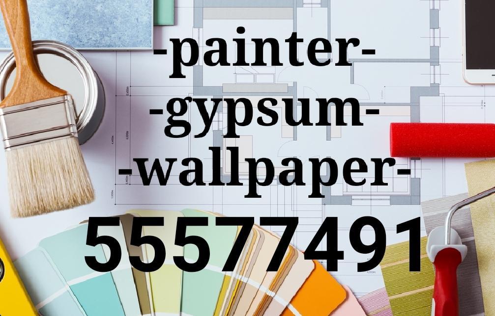 Painter carpenter gypsum board repairing work -555