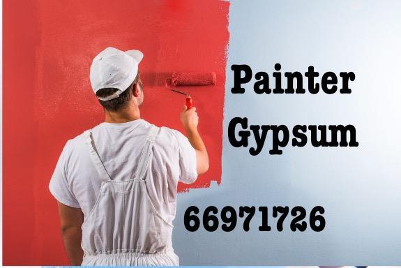 Gypsum partiton and paint  66971726