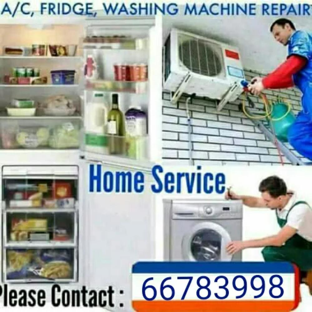 Washing machine, Fridge, Ac repair 66783998