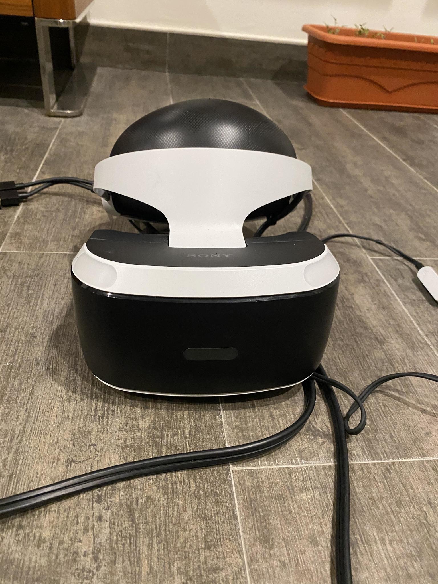 Playstation vr virtual reality ps4