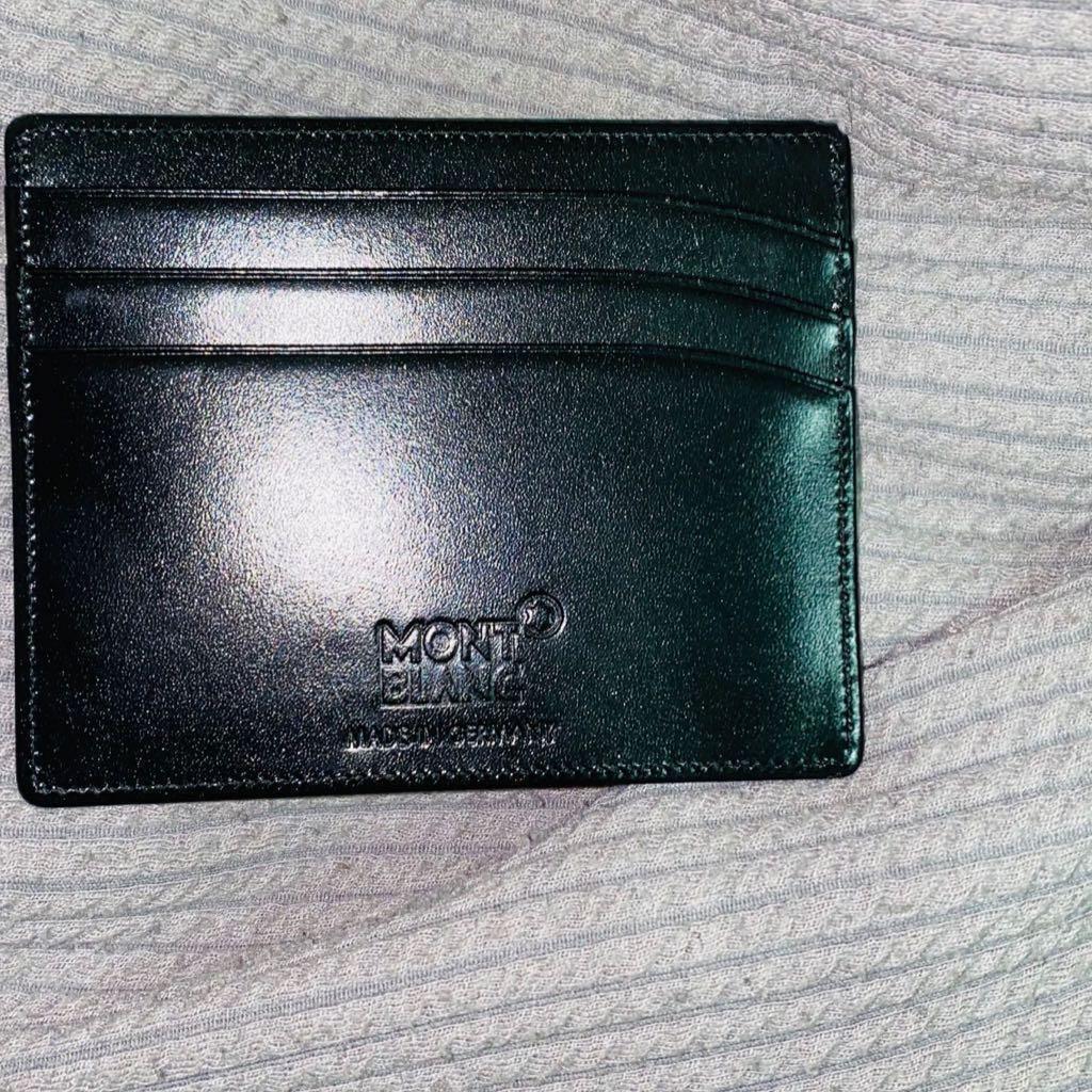 Mont Blanc Card Holder Wallet original Authentic