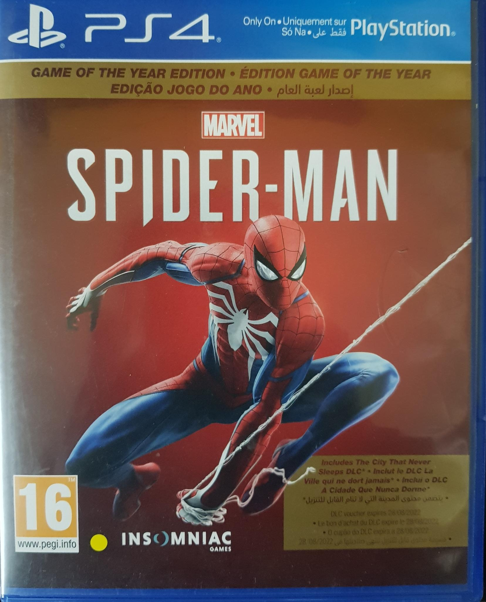 PS 4 game CD