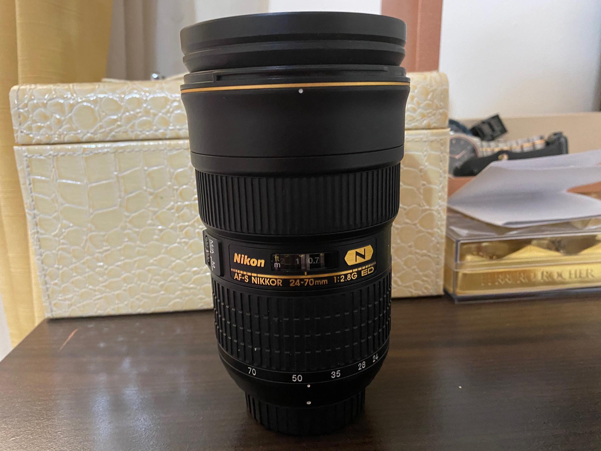 Nikon 24-70 F2.8G ED Lens for Sale