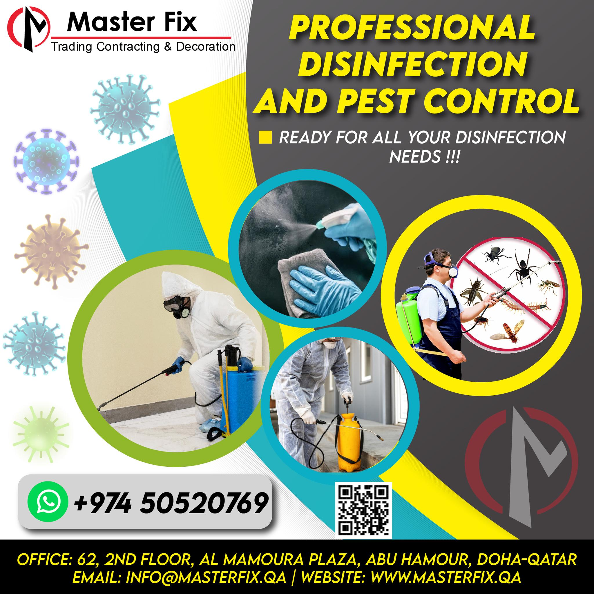 CALL 50520769 PEST CONTROL   BED BUGS   GENERAL PE