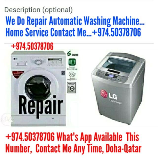 ☆. Washing Machine Repair, Contact 50378706