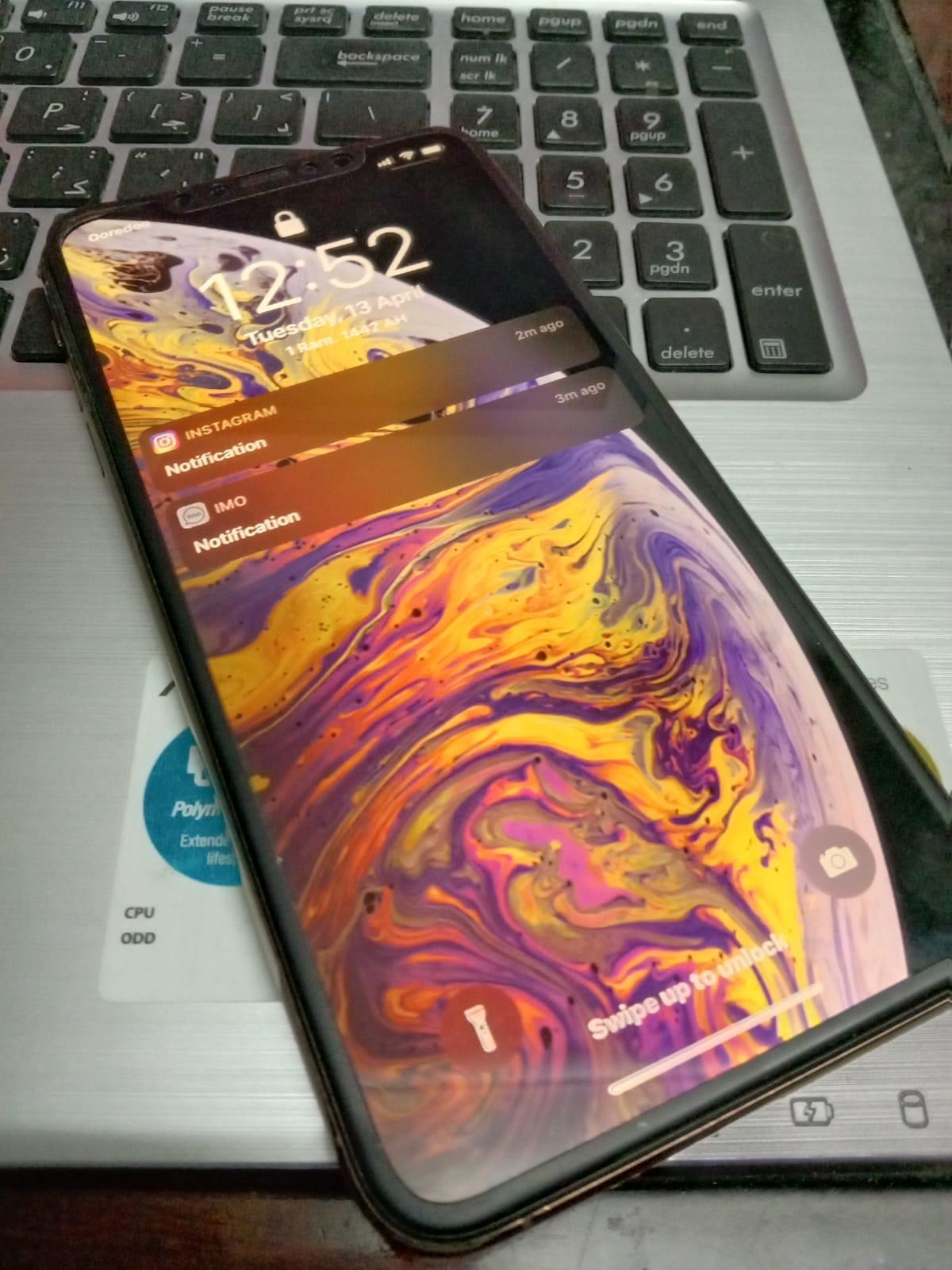 I PHONE XS MAX 256 GB