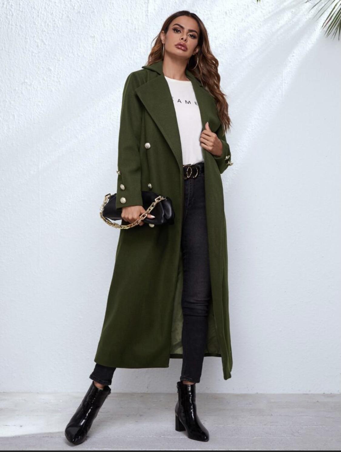 Women Trench Coat/ Winter Coat