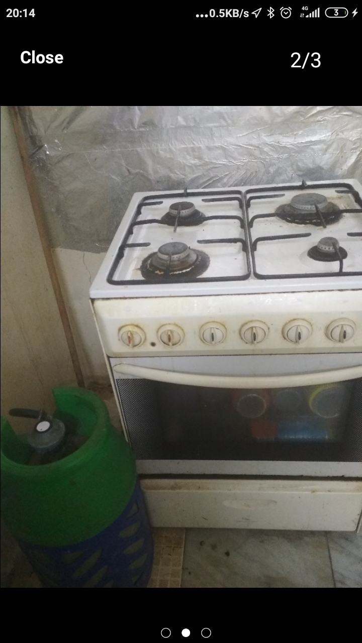 Gas WOQOD cylinder with stove