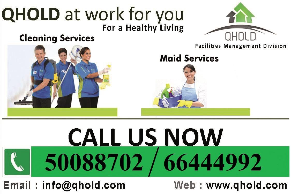 Best Cleaning Services at Doha/Wakra/Pearl Qatar -