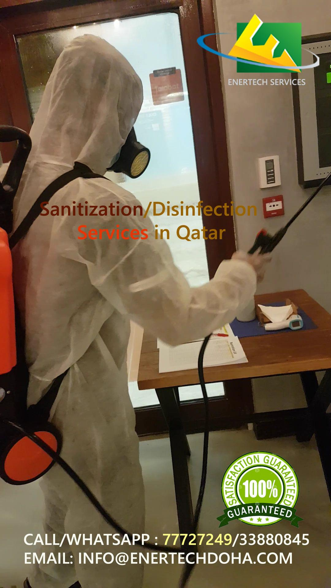 Sanitization - Disinfection Services in AL Khor