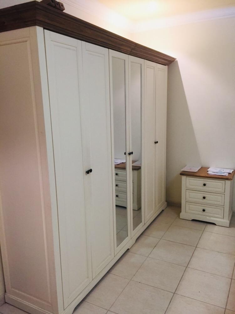 Full room set - Cupboard 6 Door , Bed with Mattres