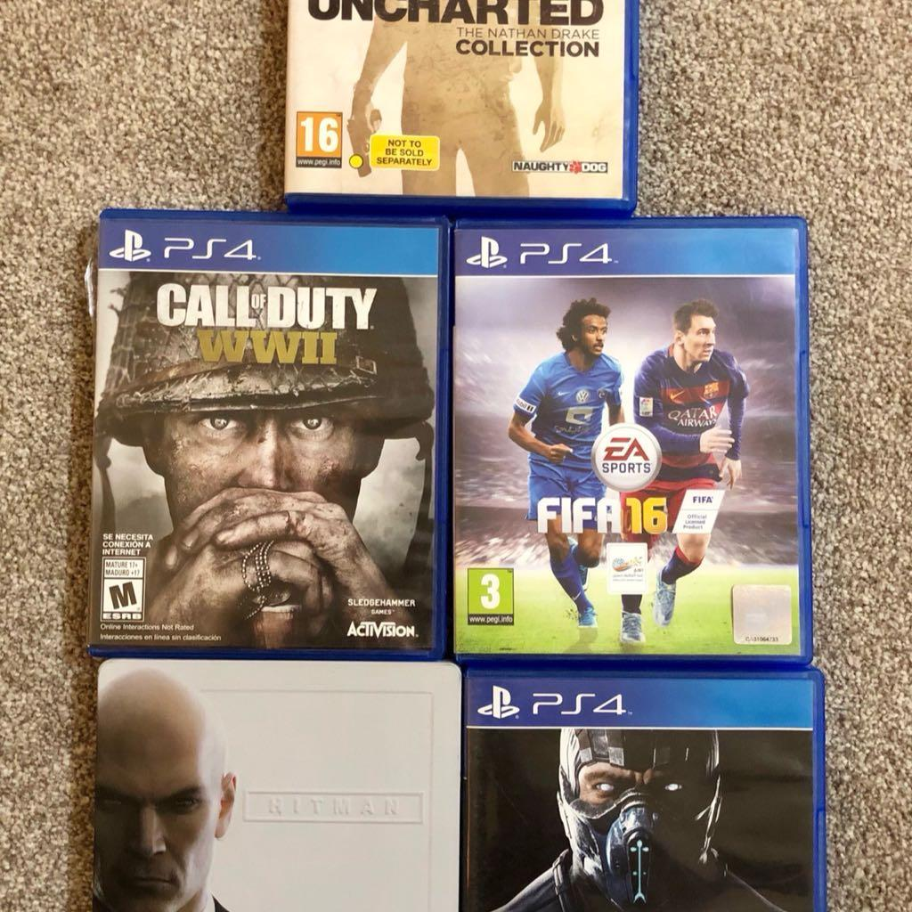 PS4 Games For Sale 3 CDs