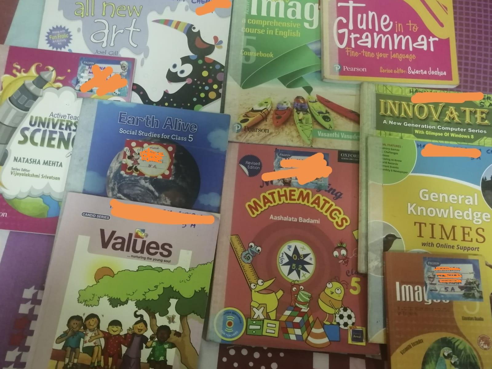 CBSE grade 5 Books Full set