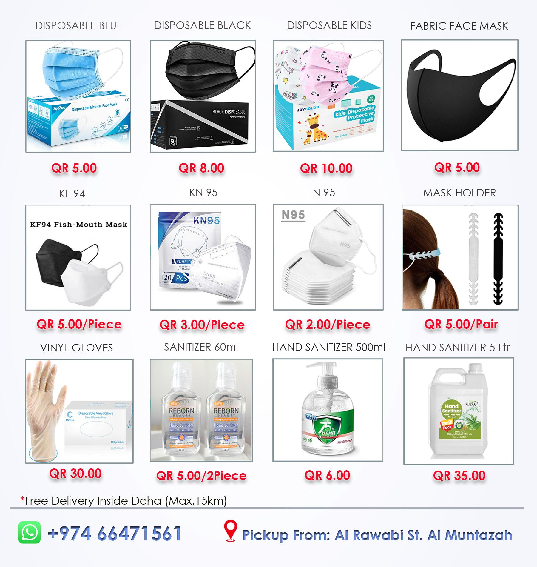 Face Mask All Models Available