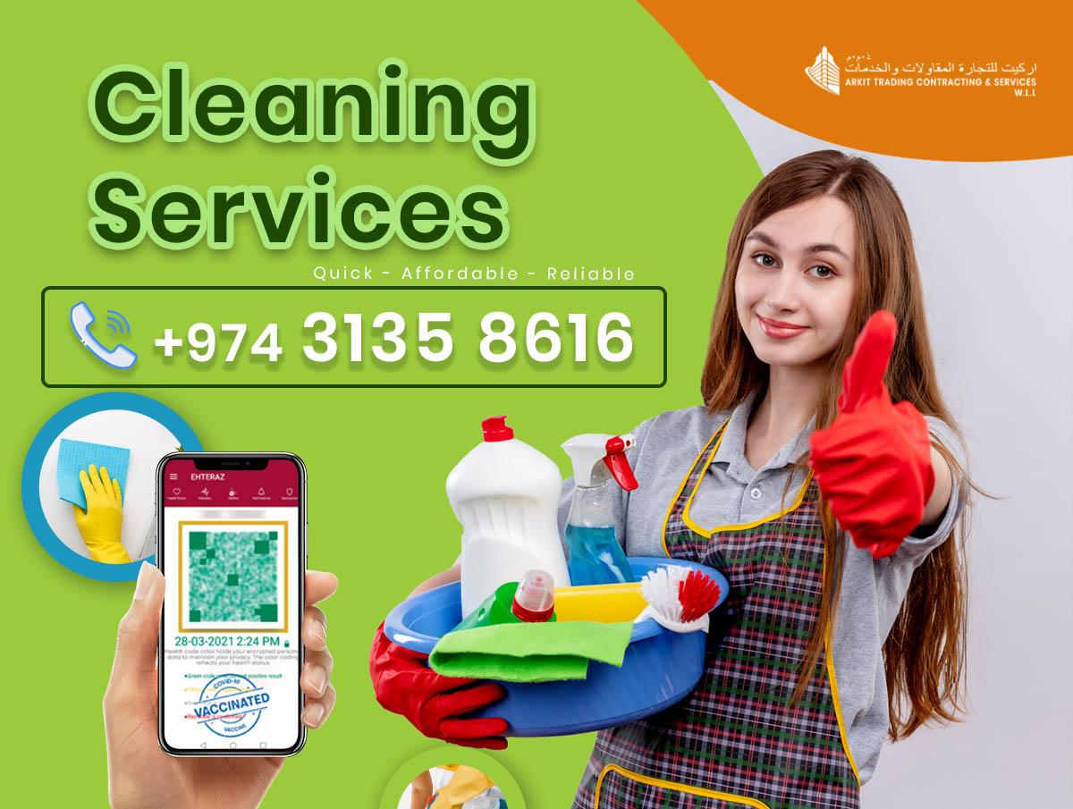 Professional Female Cleaners - Affordable Rates  (