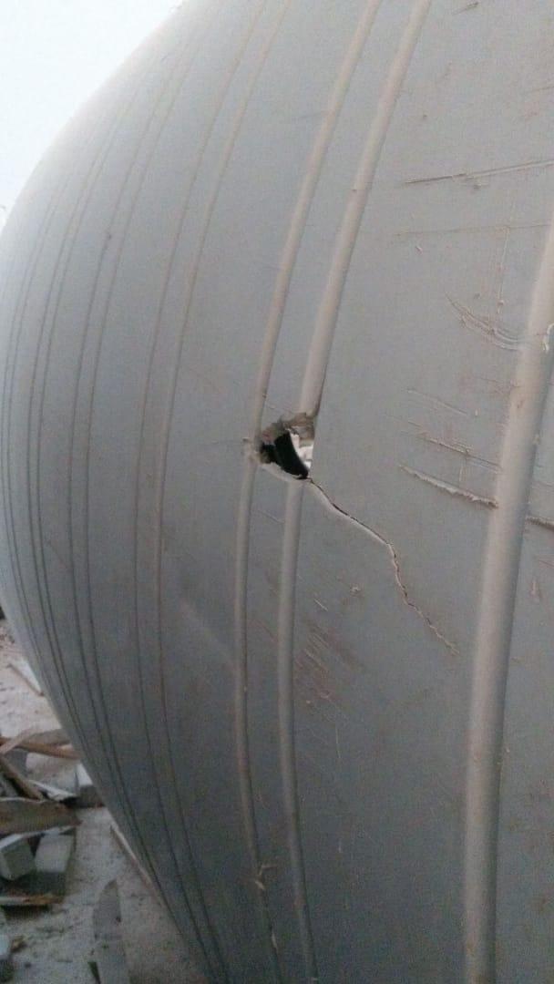 Plastic water tank leak repair Doha Qatar PLASTIC