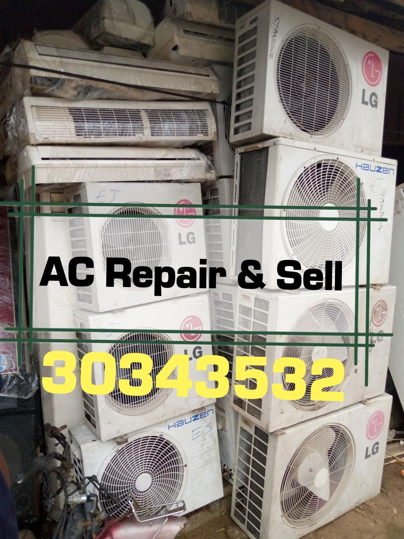 AC Servic & Repair(خدمة وإصلاح مكيفات الهواء)
