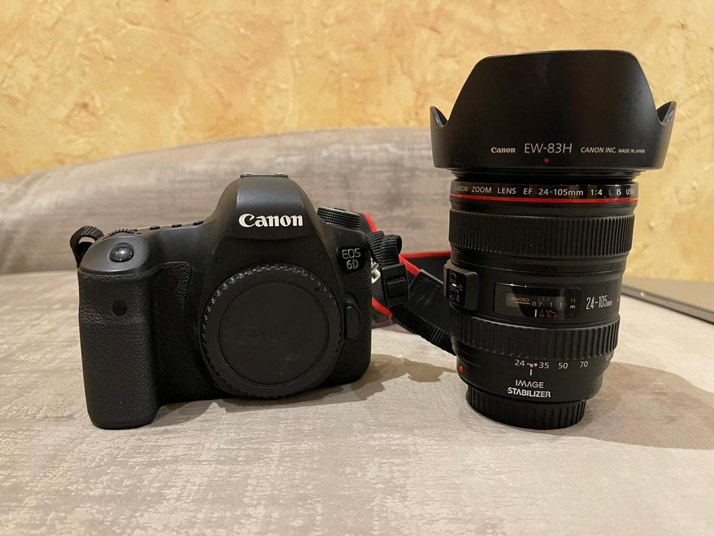 Cannon 6D With Lens