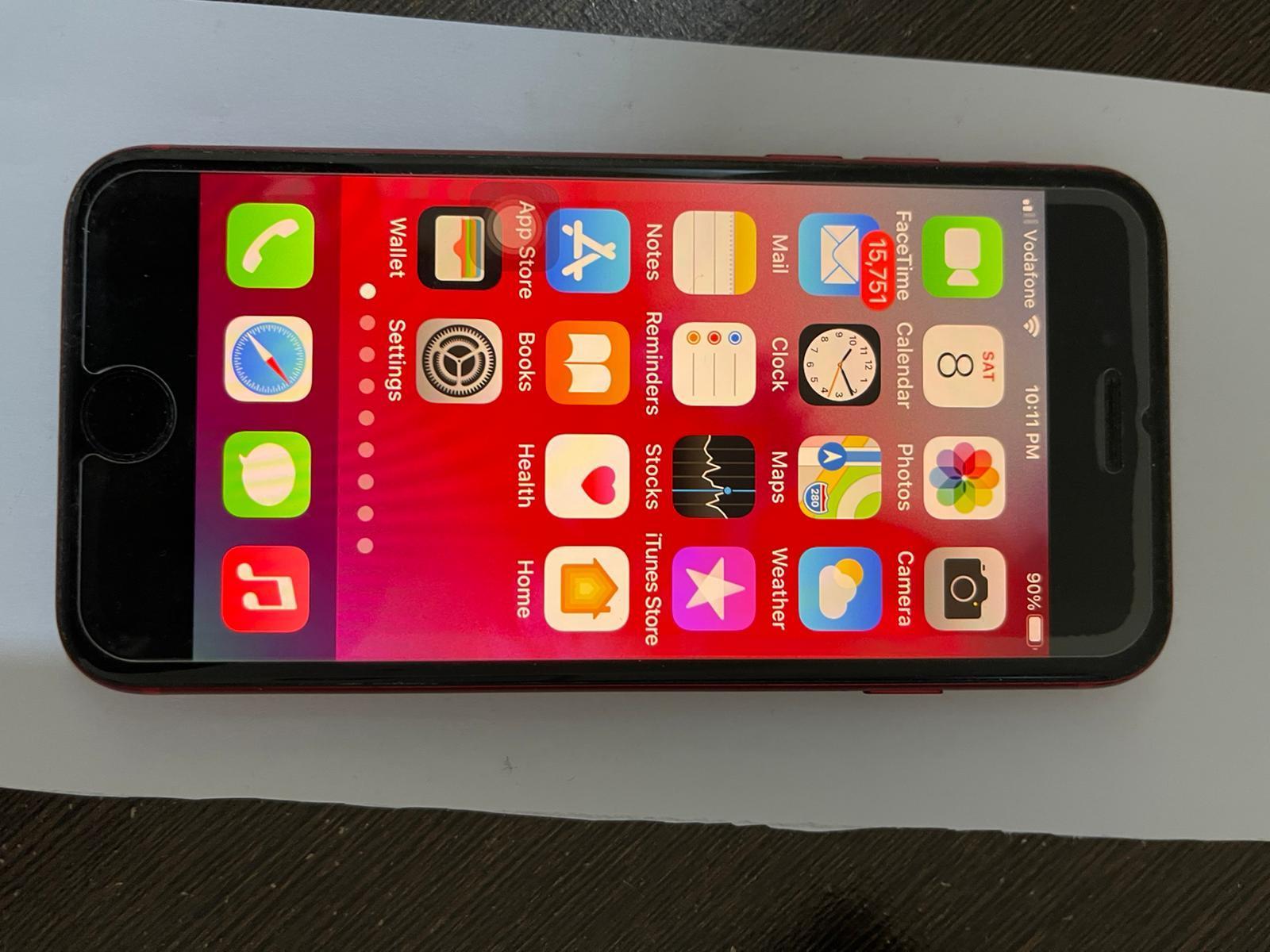 iPhone SE 2 (2020) 128 GB Red