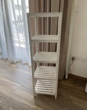 White Wooden Stand