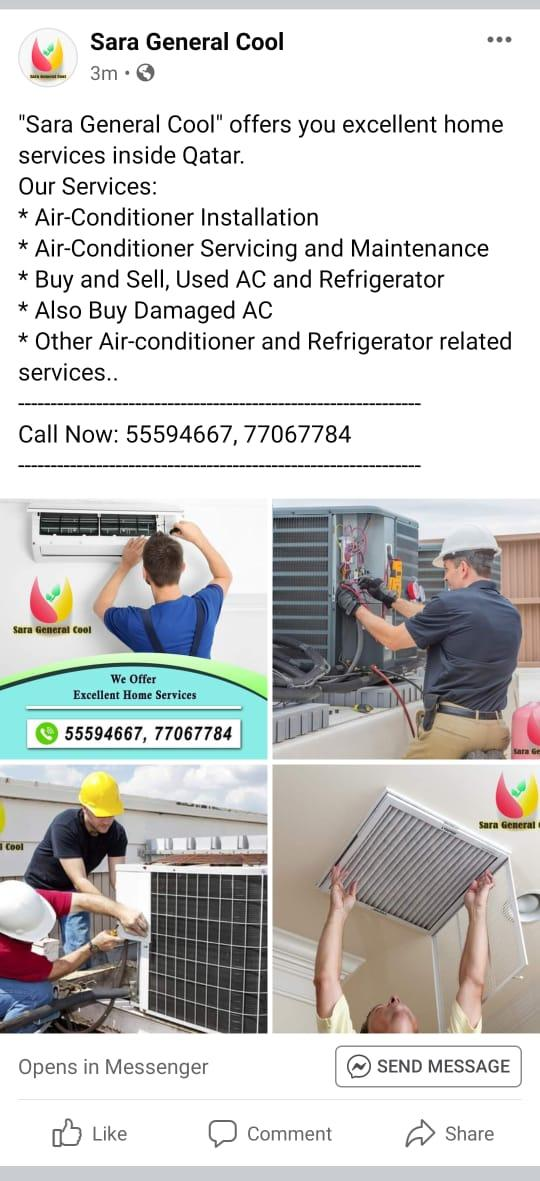 AC repairing and servicing anytime. Will provide y