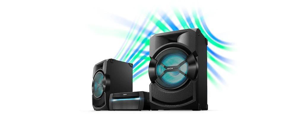 Sony Shake X30D High Power Home Audio System   Blu