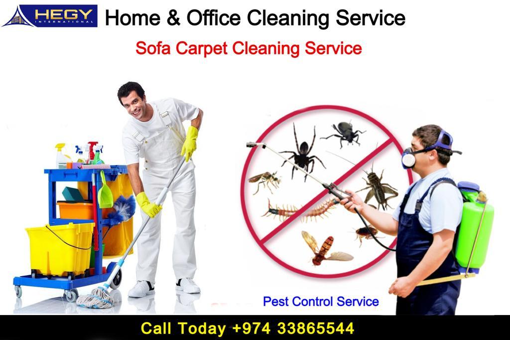Cleaning Service -Pest Control -Sanitation Service