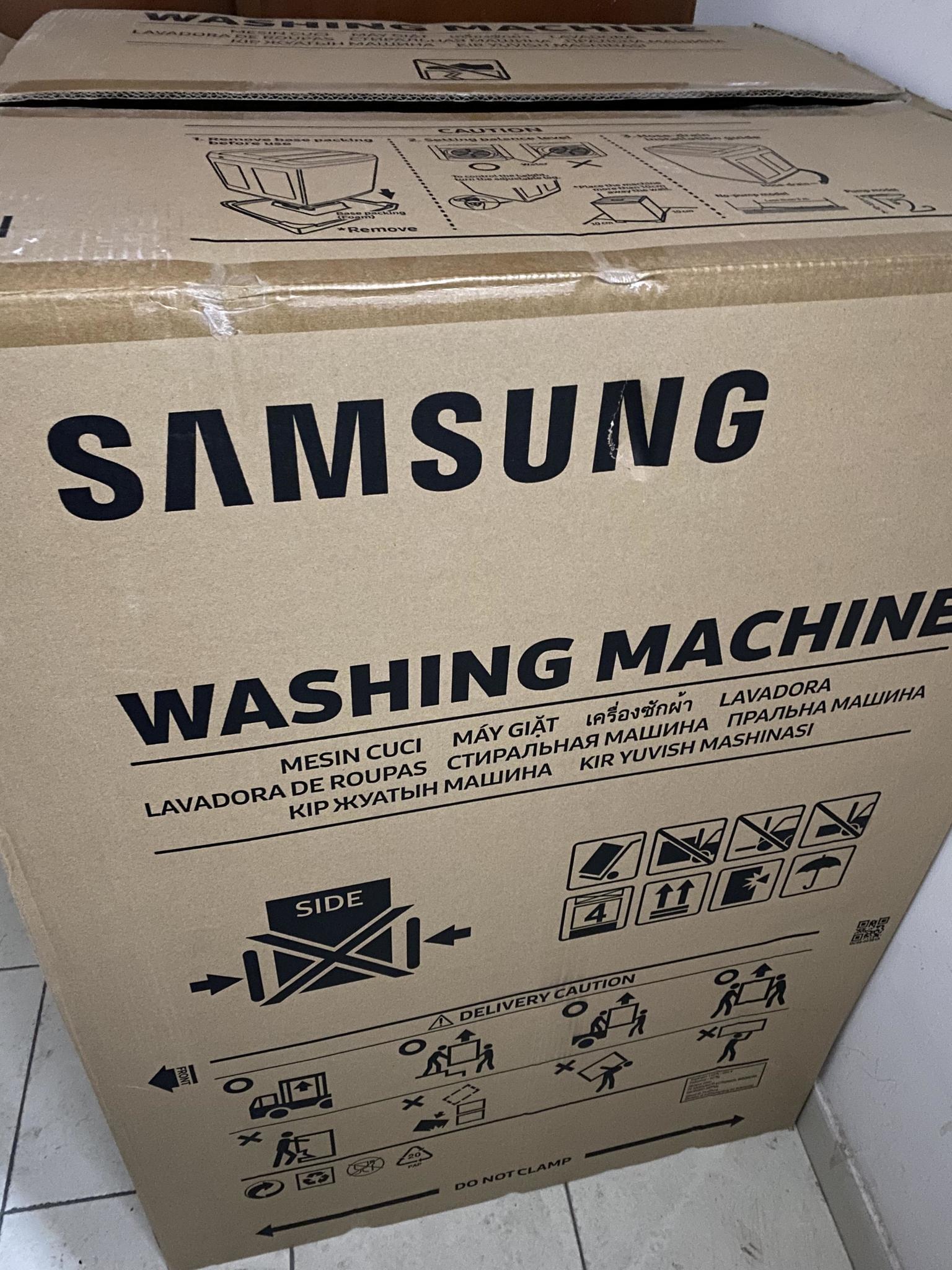 New Samsung 7 kg washing  machine
