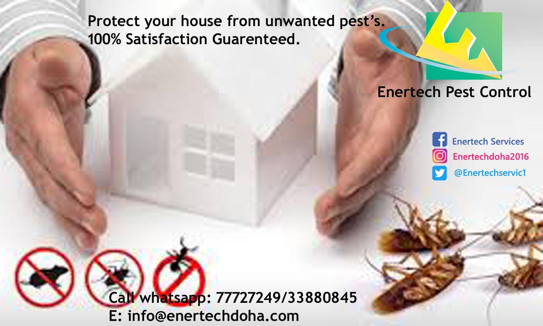 Sanitization/pest control Services in Lusail Qatar