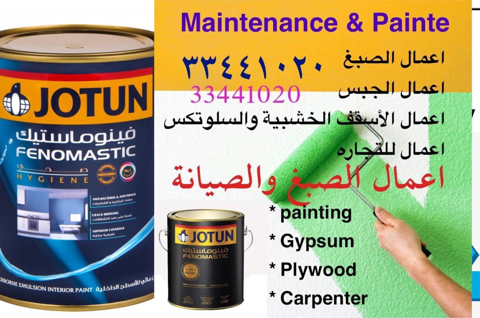 Painter- Gypsum Partition- Repairing work - 334410