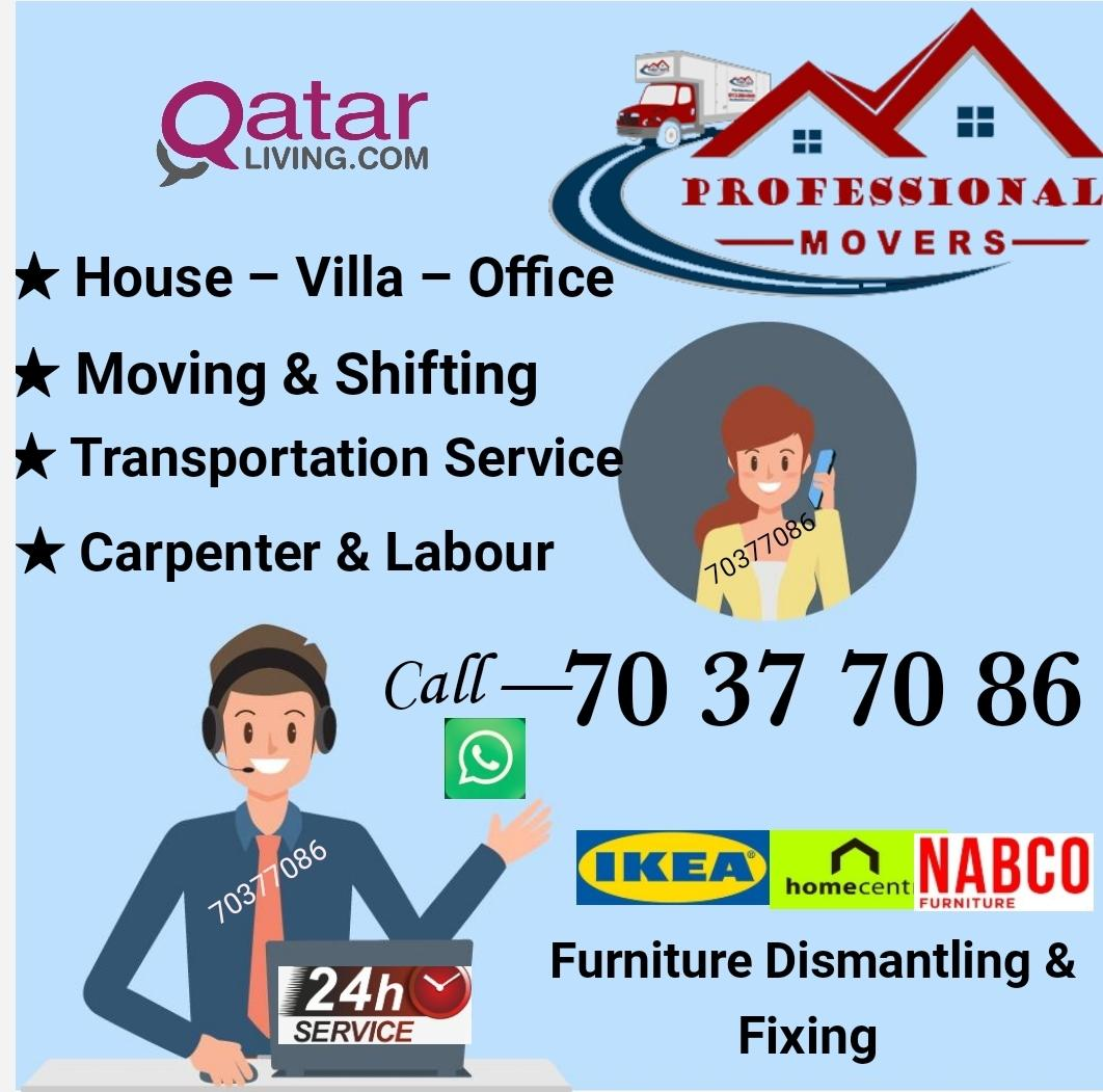 Professional movers, with good experience. For Rea