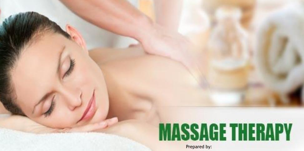 Certified body massage